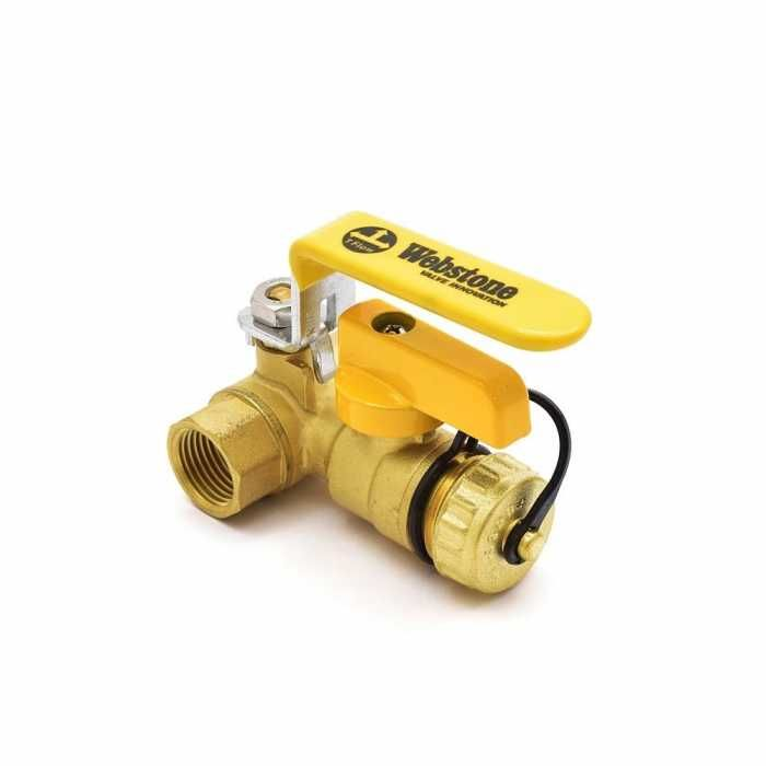 Webstone Valves 40612w 1 2 Inch Brass Ball Valve W Hose Drain Npt Threaded Full Port Lead Free Valve Hose Drain