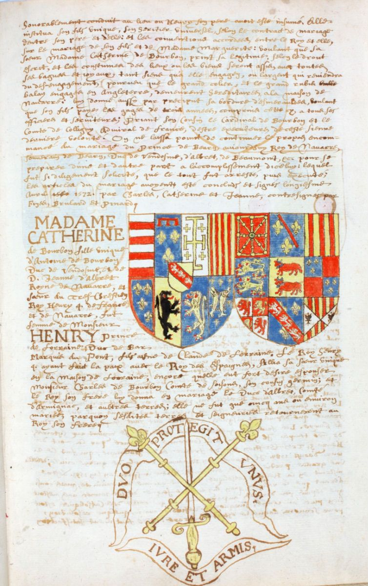 Miniature De L Abrege De L Histoire Du Royaume De Navarre Genealogia Escudo Historia