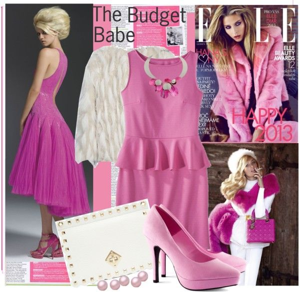 """Budgeting Glamour"" by lavendergal ❤ liked on Polyvore"