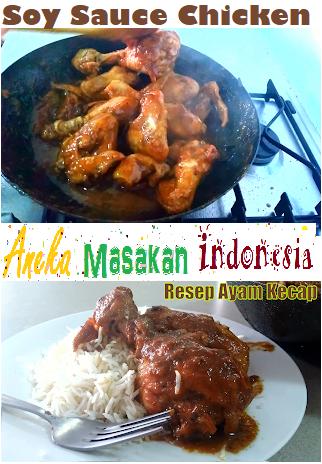 Soy Sauce Chicken Resep Ayam Resep Masakan Masakan Indonesia