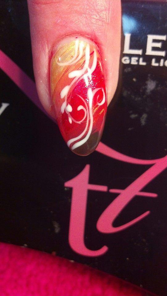 Fall Gel Polish #NailArt Design by #NailDept in Onalaska, WI   Nails ...