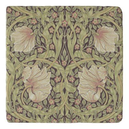 beautiful art nouveau by william morris trivet in 2018. Black Bedroom Furniture Sets. Home Design Ideas