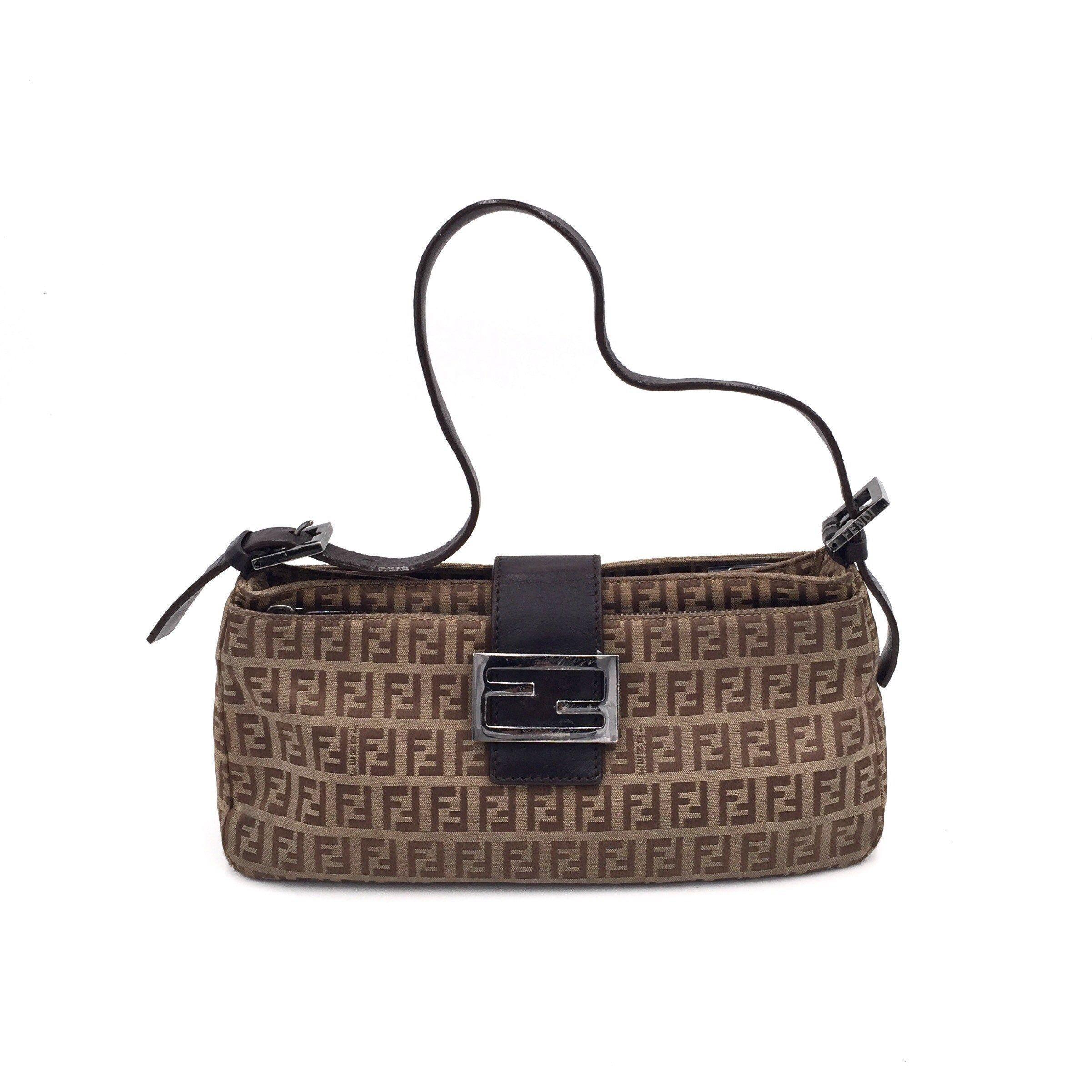 480bb5bc6c7 Authentic Vintage Fendi Zucca Baguette Bag | Fendi Vintage Bag ...