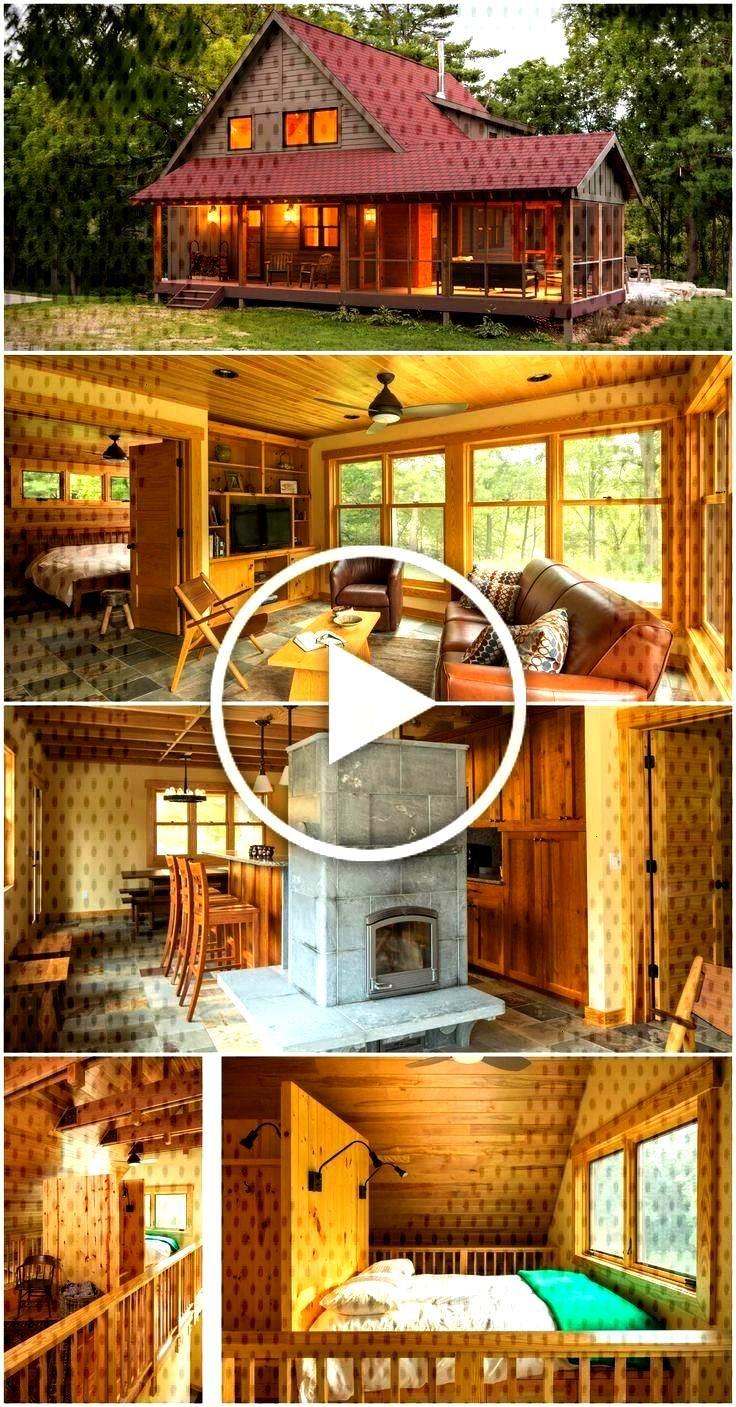 Acogedora cabaña de madera a 1.600 pies cuadrados -