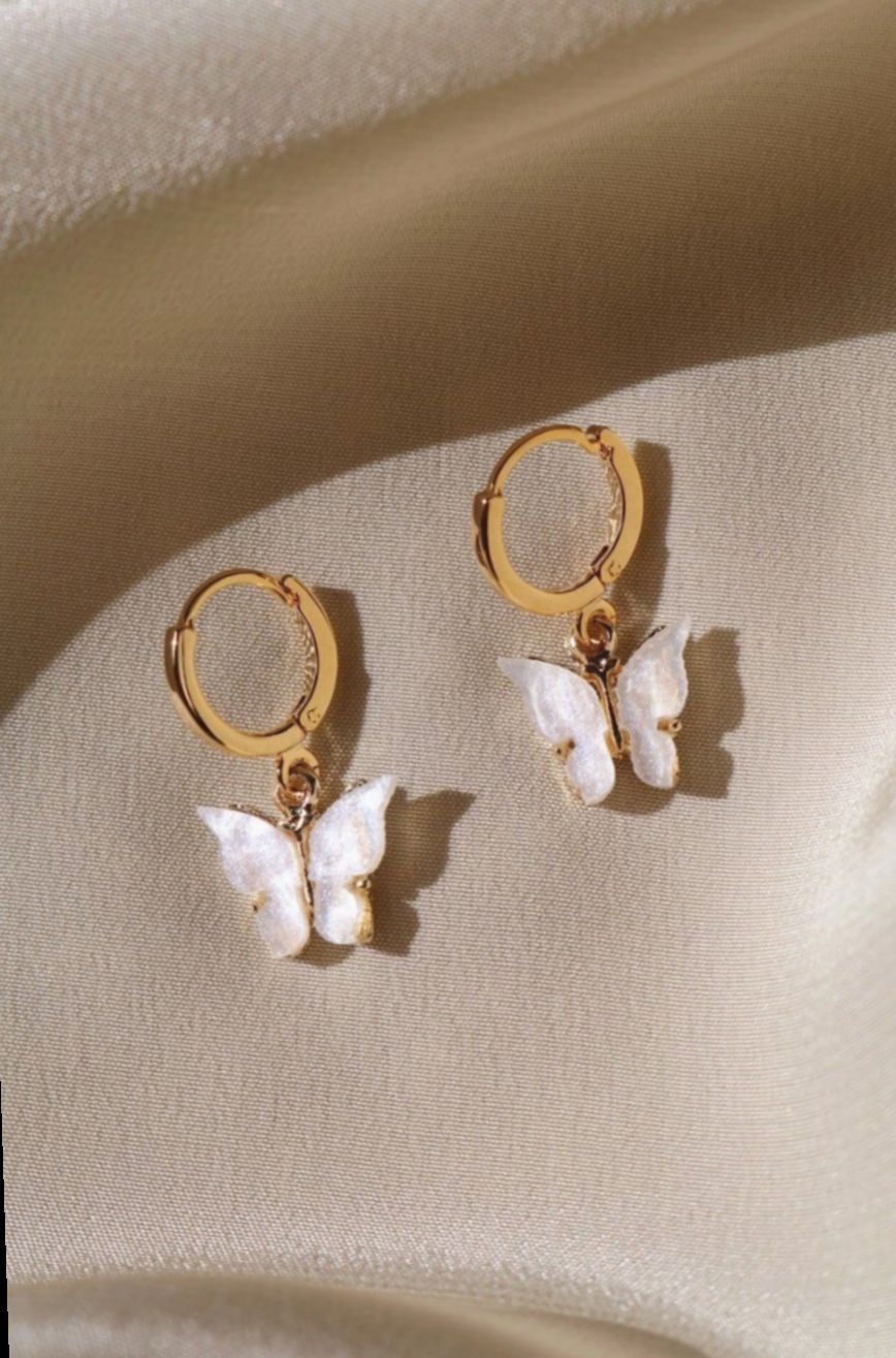 DIDA Fashion Gold Hoop Earrings with Long Earrings and Large Circles That Dont Fade