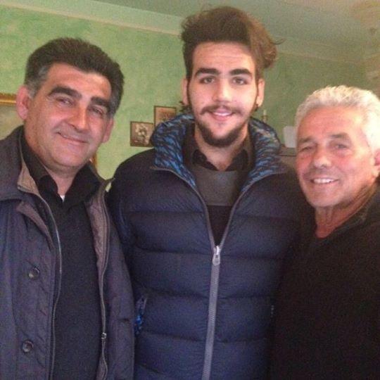 Ignazio's father, Ignazio and Giuseppe Rallo