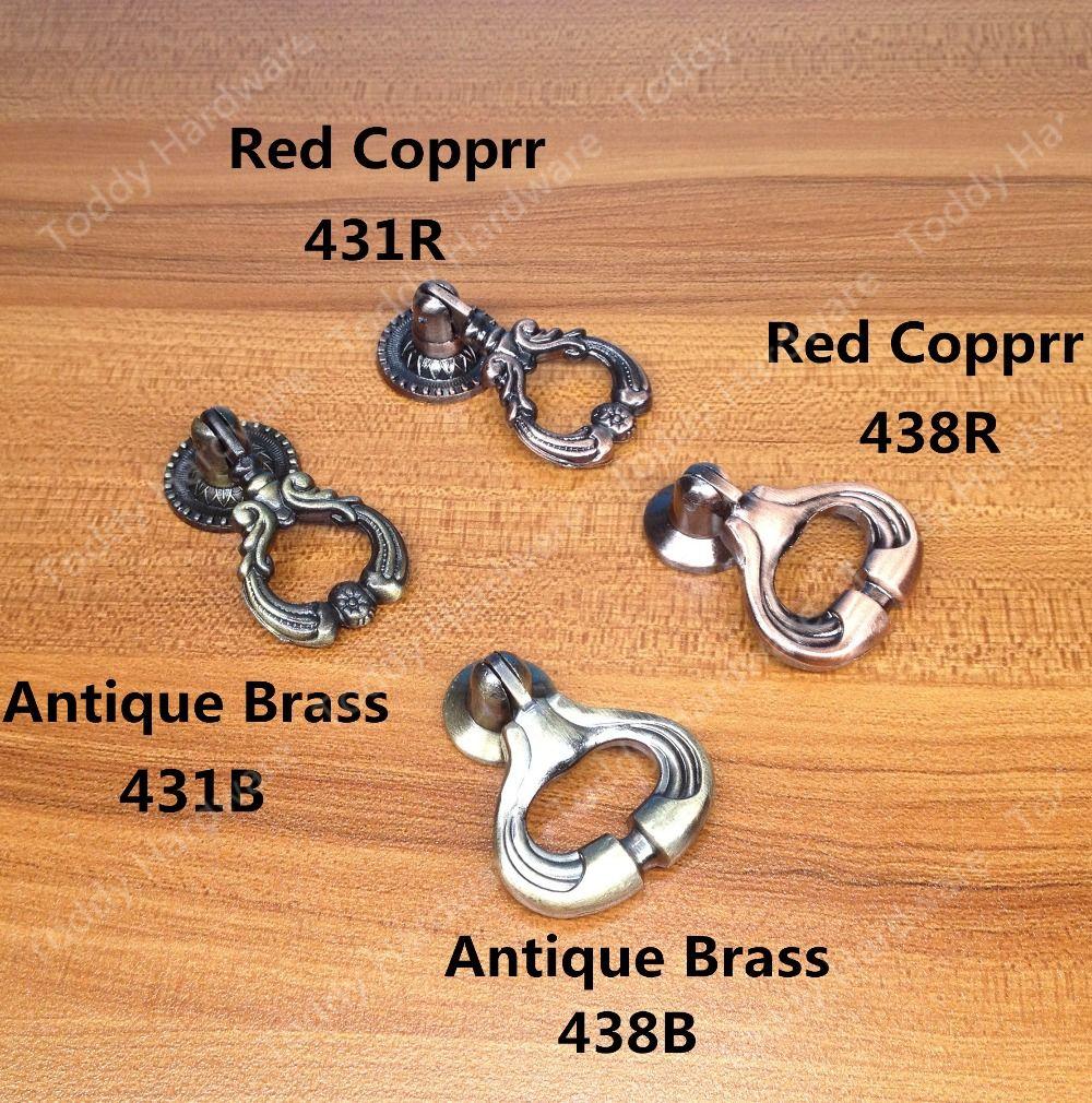 Pendant Style Antique Brass/ Red Copper color Zinc alloy furniture ...