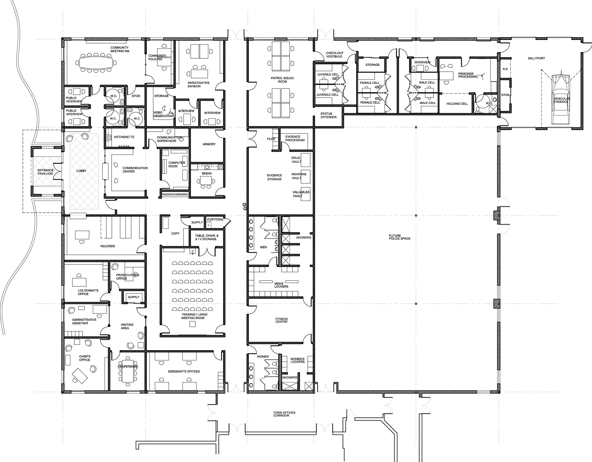 Astonishing Floor Plans Blueprints On Floor With Home