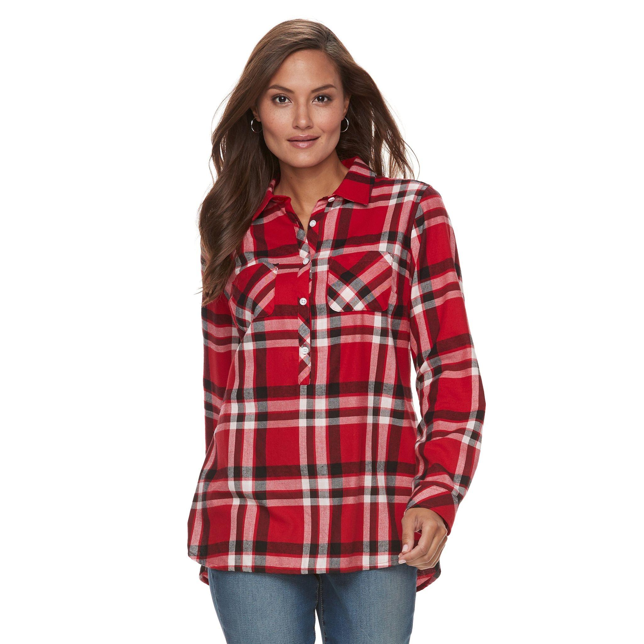 b73993571f Women s Croft   Barrow  Plaid Flannel Shirt