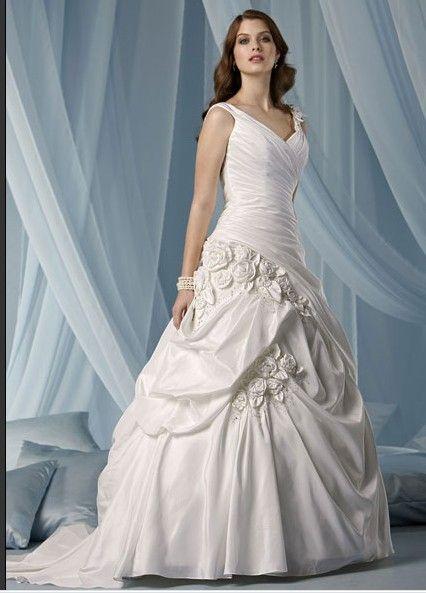 Ball Gown Princess Halter V-Neck Natural Waist Non-Strapless Satin ...