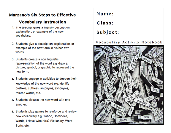 Here\'s a fabulous vocabulary journal with more than 20 templates for ...