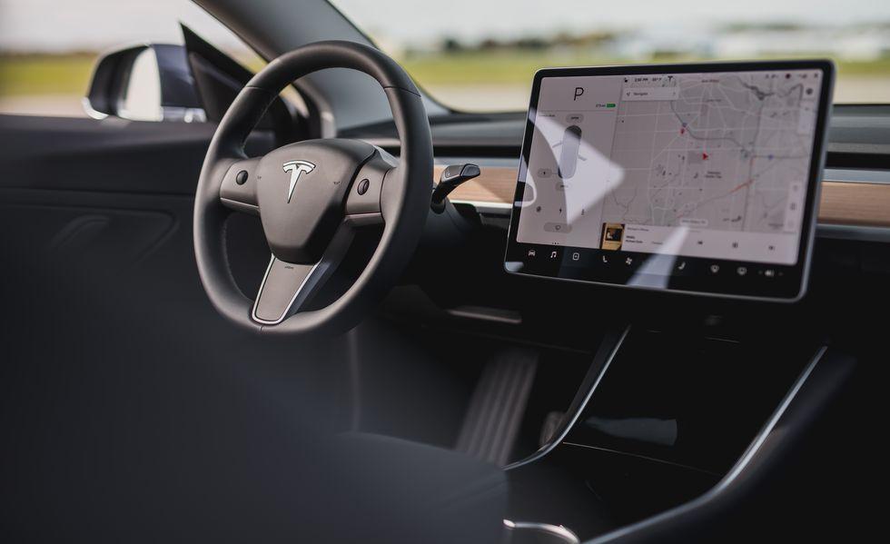 Our Tesla Model 3 Just Got A Bit Smarter Thanks To The Latest Software Update In 2020 Fire Trucks Tesla Tesla Model