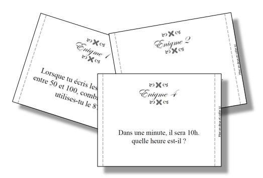 Exceptionnel Nouveaux rituels énigmes en maths (Charivari). | Maths | Pinterest  FO88
