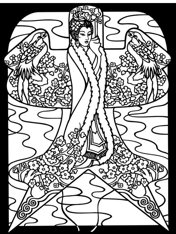 Chinese Coloring Pages for Adults | Easter Coloring Pictures IndeX ...
