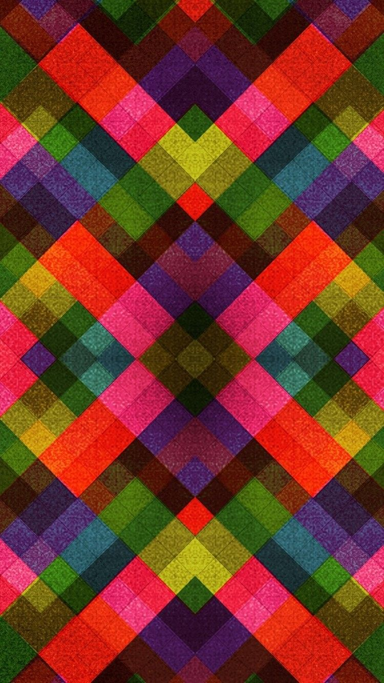 Crazy Multicolor iPhone 6 Wallpaper 31818 Abstract