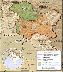 Sino indian border dispute wikipedia the free encyclopedia explore kashmir map kashmir india and more gumiabroncs Image collections