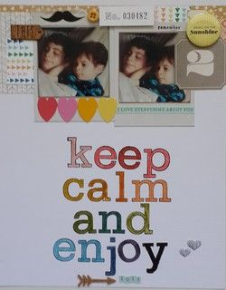 Keep calm and enjoy by corinne at @Studio_Calico