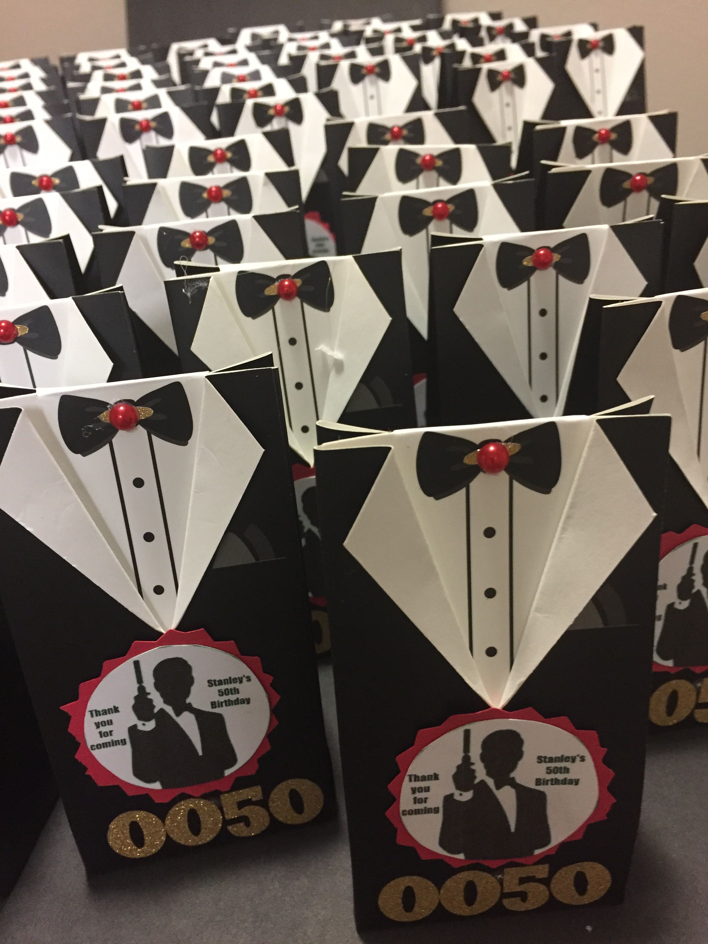James Bond Party Favors Unique Birthday Party Ideas And Themes