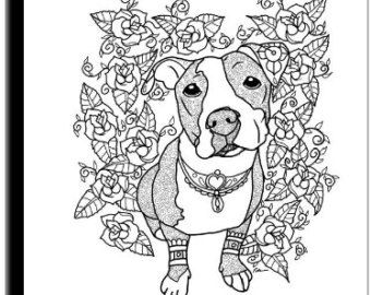 Art of Pibble Coloring Book Volume No1 Downloadable by ArtByEddy