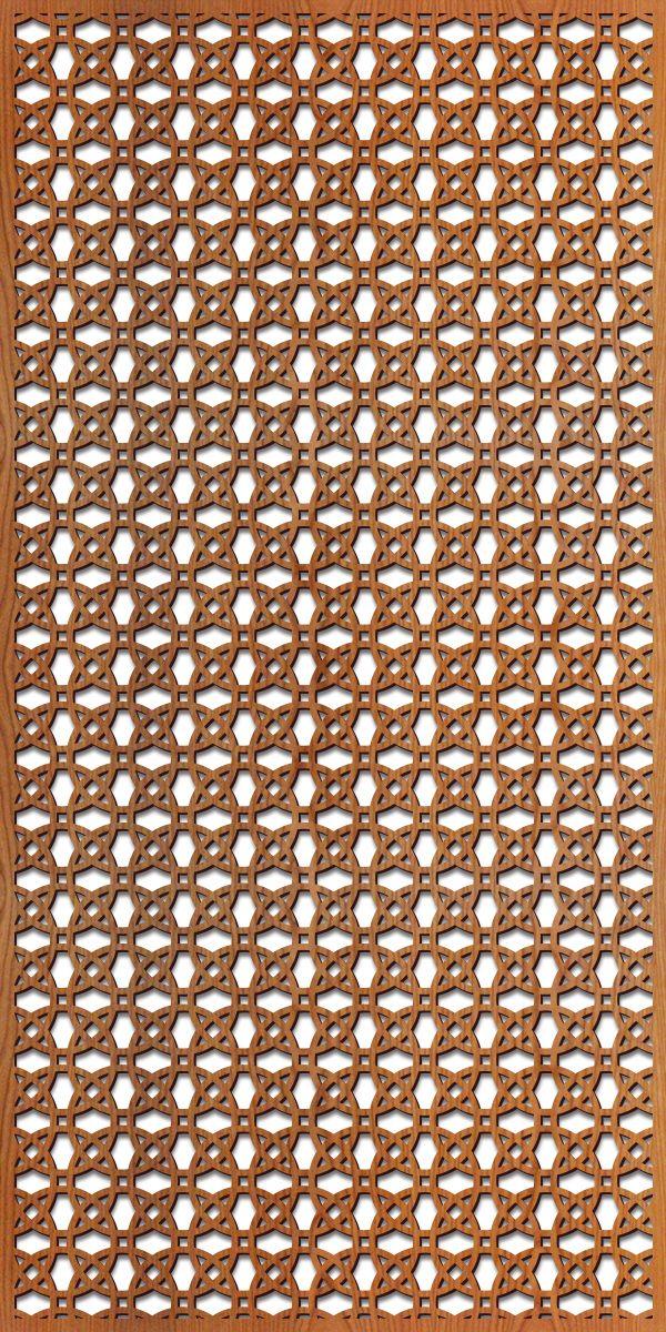 Circles 1 Thick Laser Cut Pattern — Lightwave Laser