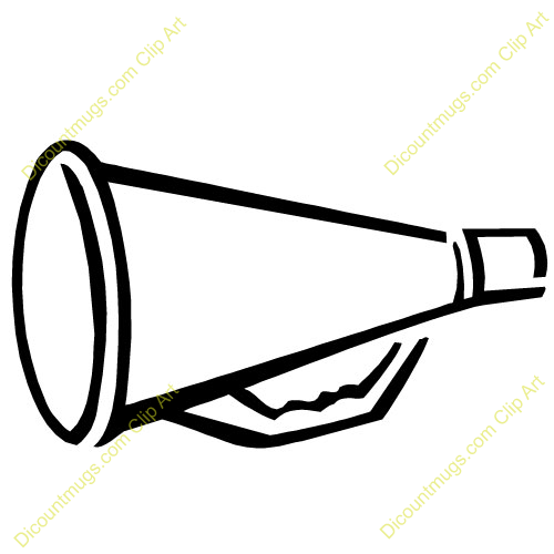 megaphone clip art september week 1 pinterest cheer and rh pinterest com  cheerleader megaphone clipart free