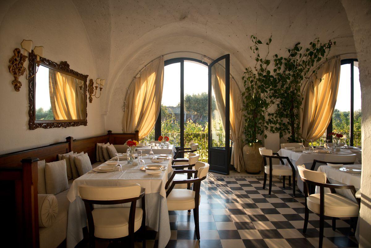 Le Palme Restaurant of Masseria Maizza Torre, Resort e Hotel