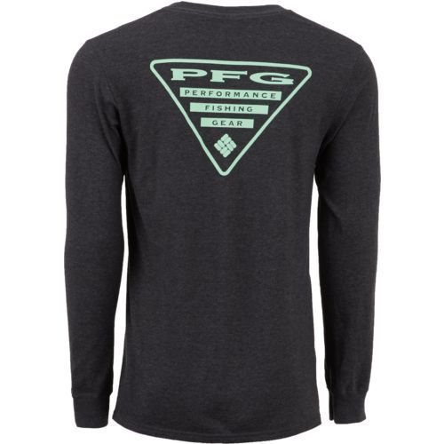 Columbia New PFG Fishing Gear Triangle Short Sleeve T-Shirt Men/'s Large Gray