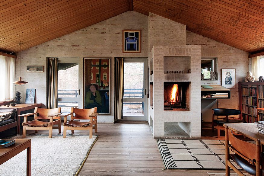 Danish designer Børge Mogensen\'s house. | Living With Personality ...