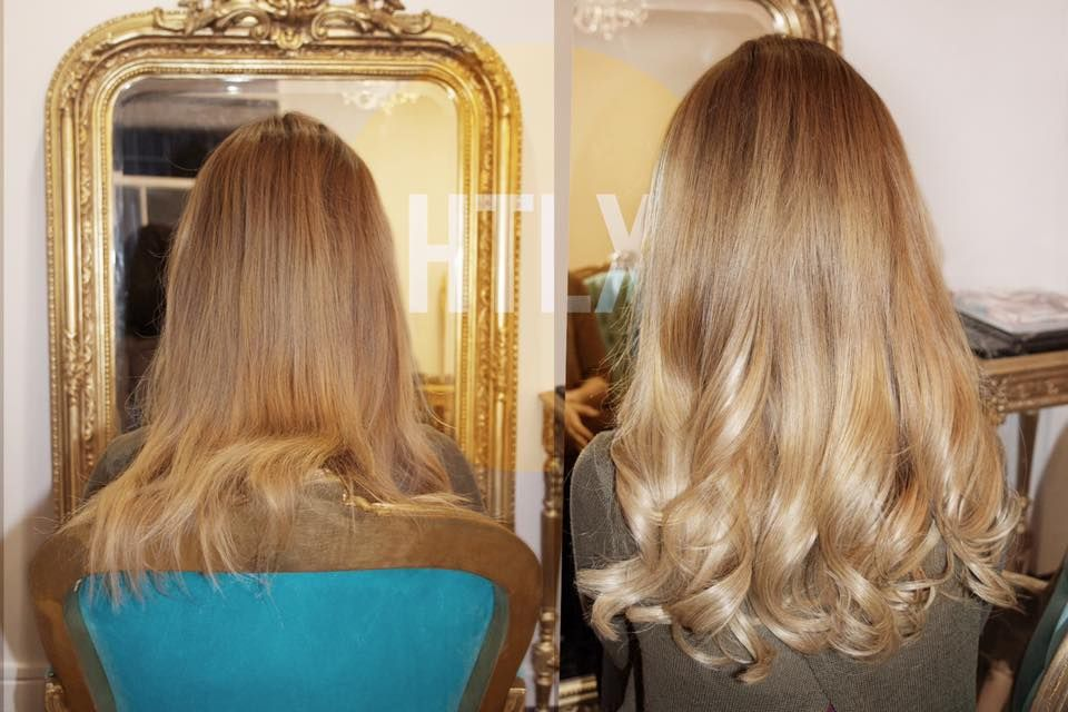 Before And After Hotloxs Keratin Bond Application Dm Us For
