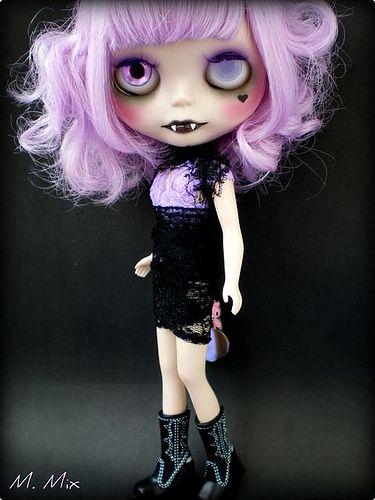 Custom Blythe Vamp Cristina Catarina (Crica)
