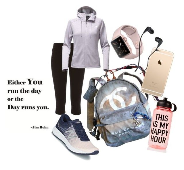 """""""Untitled #50"""" by tracey22505 on Polyvore featuring Chanel, River Island, The North Face, New Balance, Ankit and Skullcandy"""