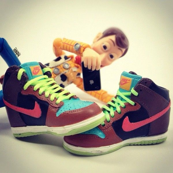 timeless design d6164 f839f ... Toy Story - Nike Dunk High Stussy ...