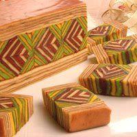 Indonesian Thousand Layer Cake (spekkoek – lapis legit cake)