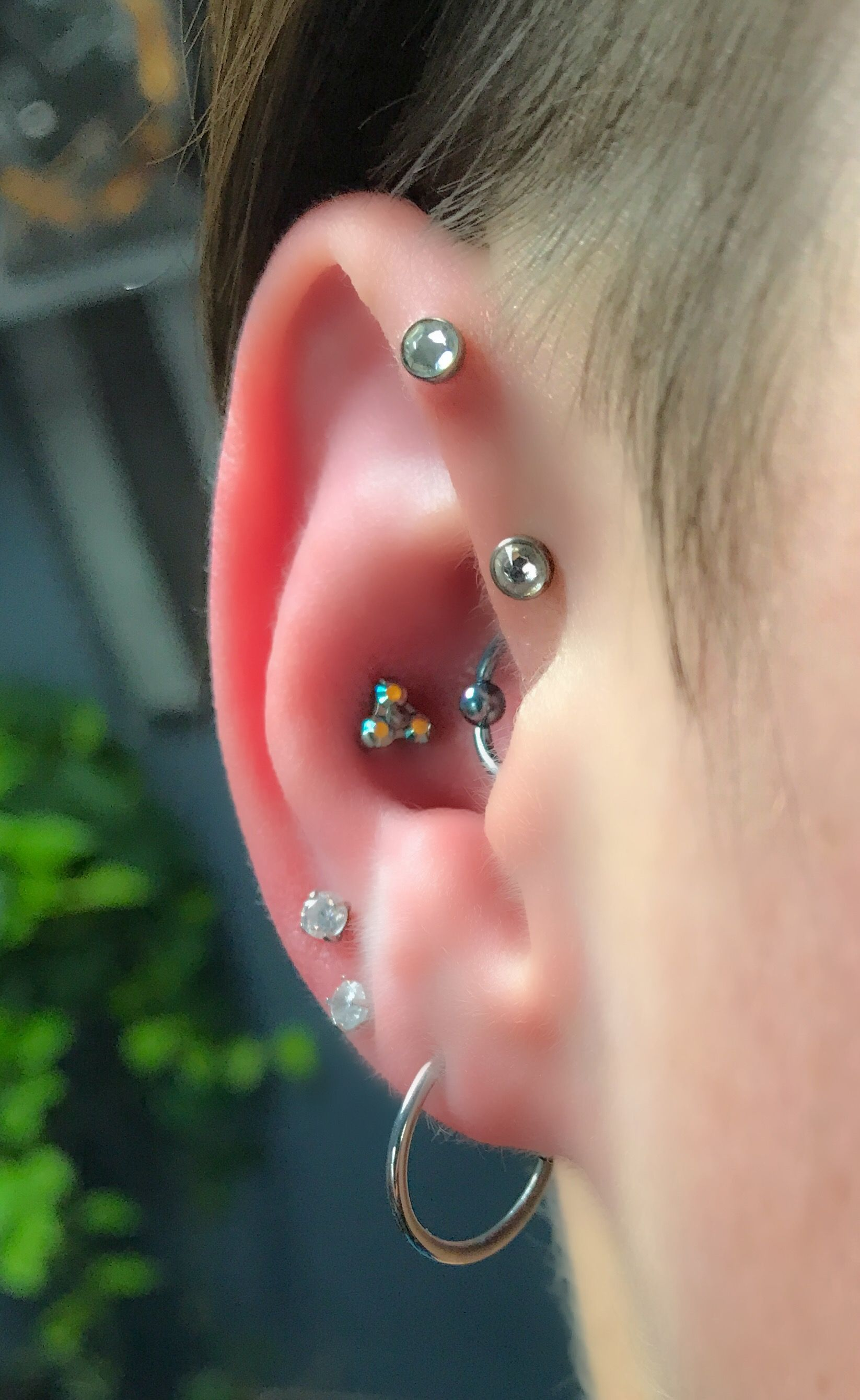 Nose piercing growing over  Pin by Keybold on Ear  Pinterest  Piercings Ear piercing and Piercing