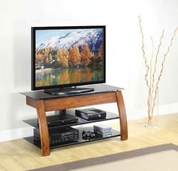 50 In Walnut Finish 3 In One Tv Stand At Menards Deal Coupon