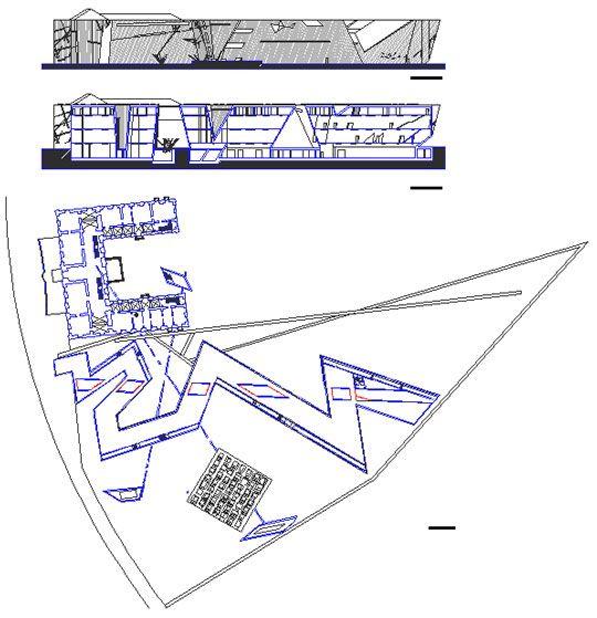 Daniel Libeskind, Jewish Museum, Berlin, 1999