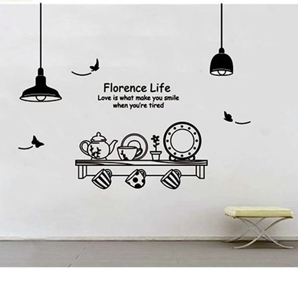 Aliexpress.com : Buy Wall Designs Wall Art Kitchen Utensils .