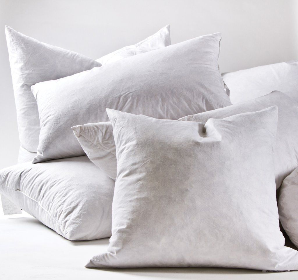 Plush and soft, shop inserts for your Pom Pom at Home pillows. 100% cotton Fill: 5% down, 95% feather Hypoallergenic Centro clean feathers and down Made in the USADimensions Boudoir: 2