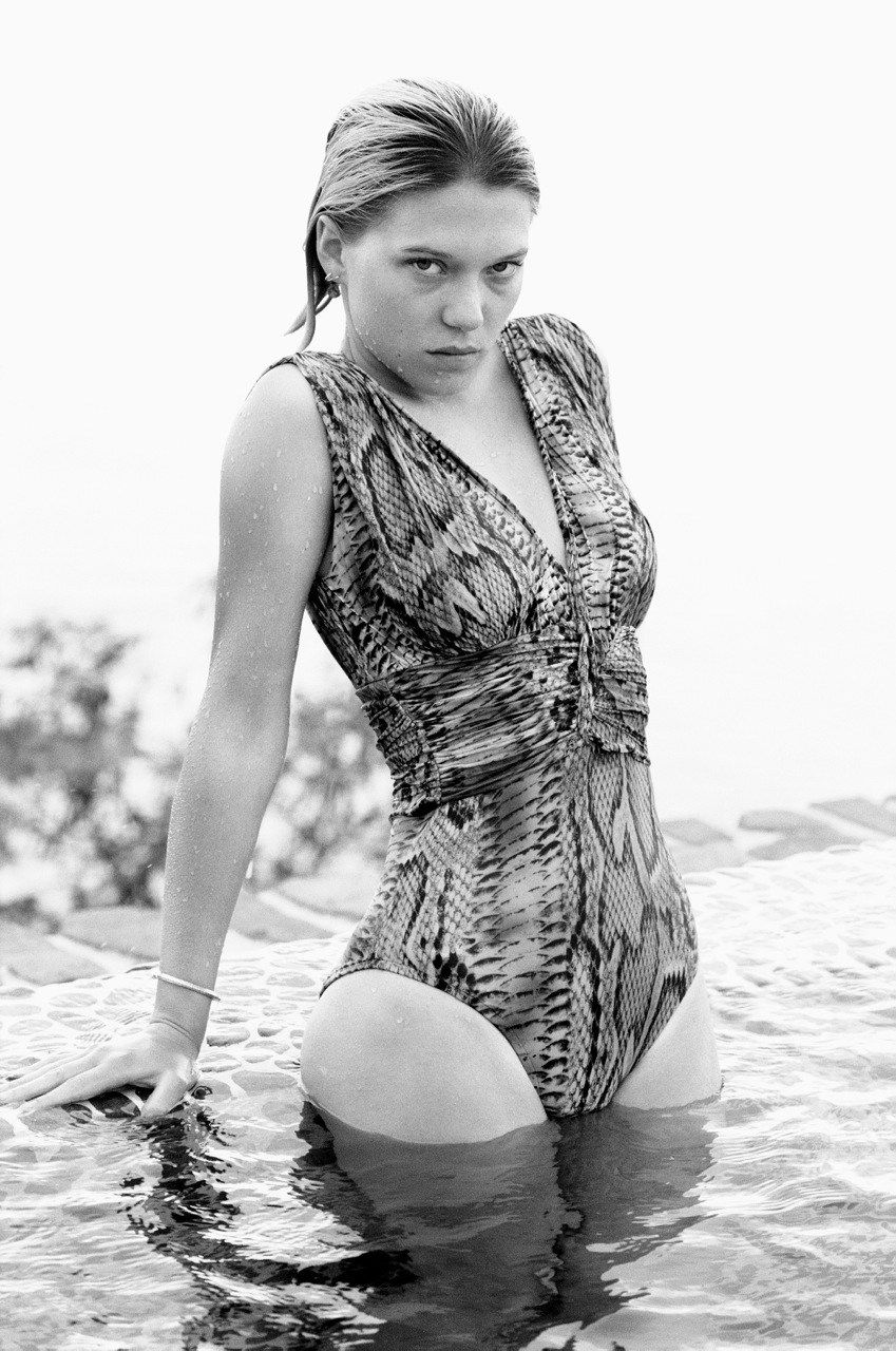 Léa Seydoux, photographed by Theo Wenner for Obsession magazine, Summer  2013. 1f90fc93a67