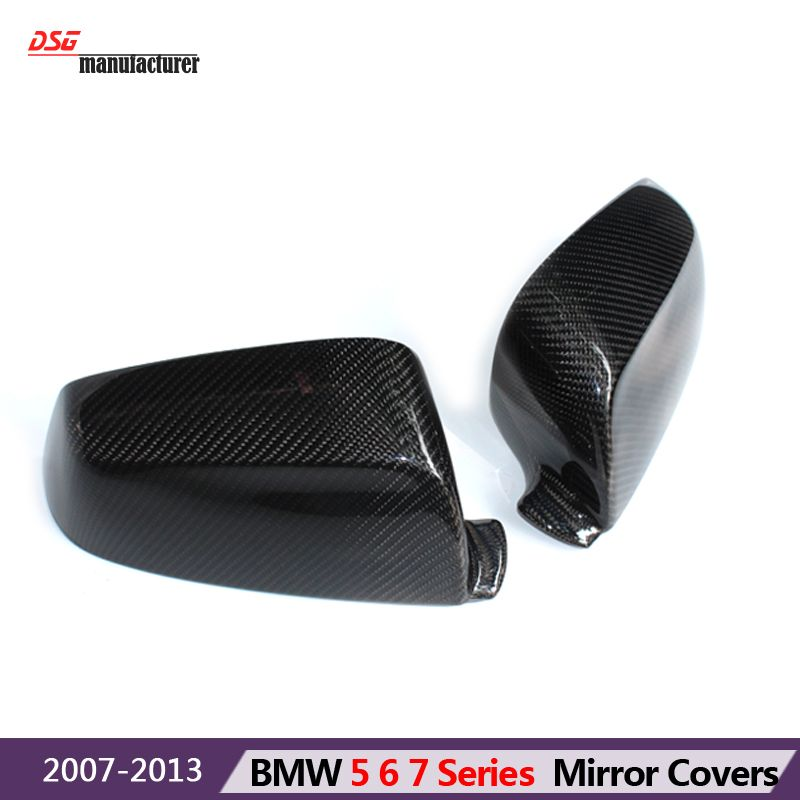 2008 2010 E60 Lci Replacement Carbon Fiber Wing Door Mirror Covers For Bmw 6 Series 2007 2011 E63 E64 Lci 2011 2013 F06 F12 F13 Bmw 6 Series Bmw Carbon Fiber