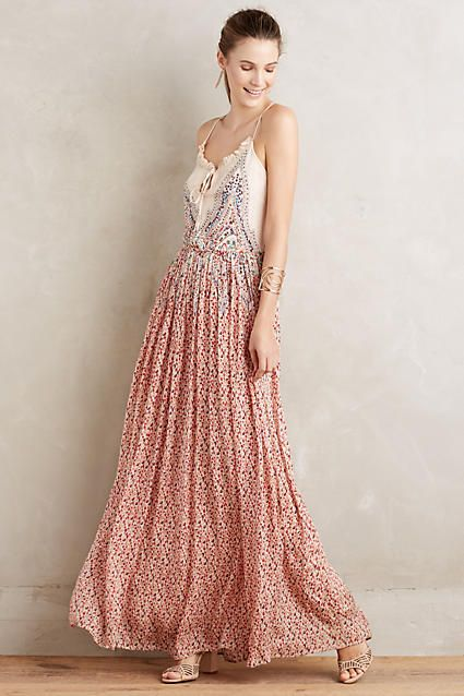 Moulinette Soeurs Idlewild Maxi Dress Pretty Dresses Pinterest