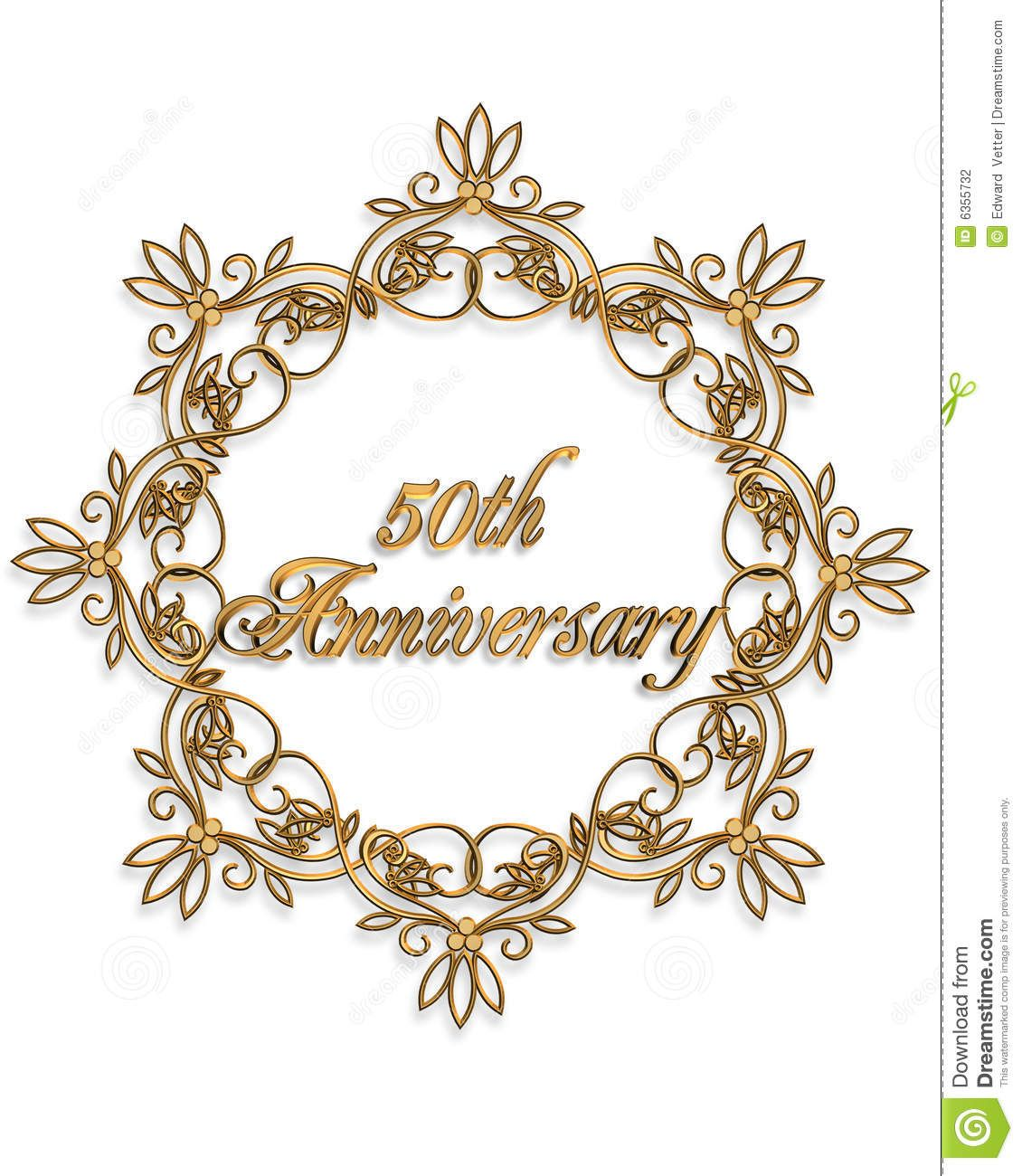 50th Wedding Anniversary Quotes: 50th Anniversary Clip Art For Cards Clipart