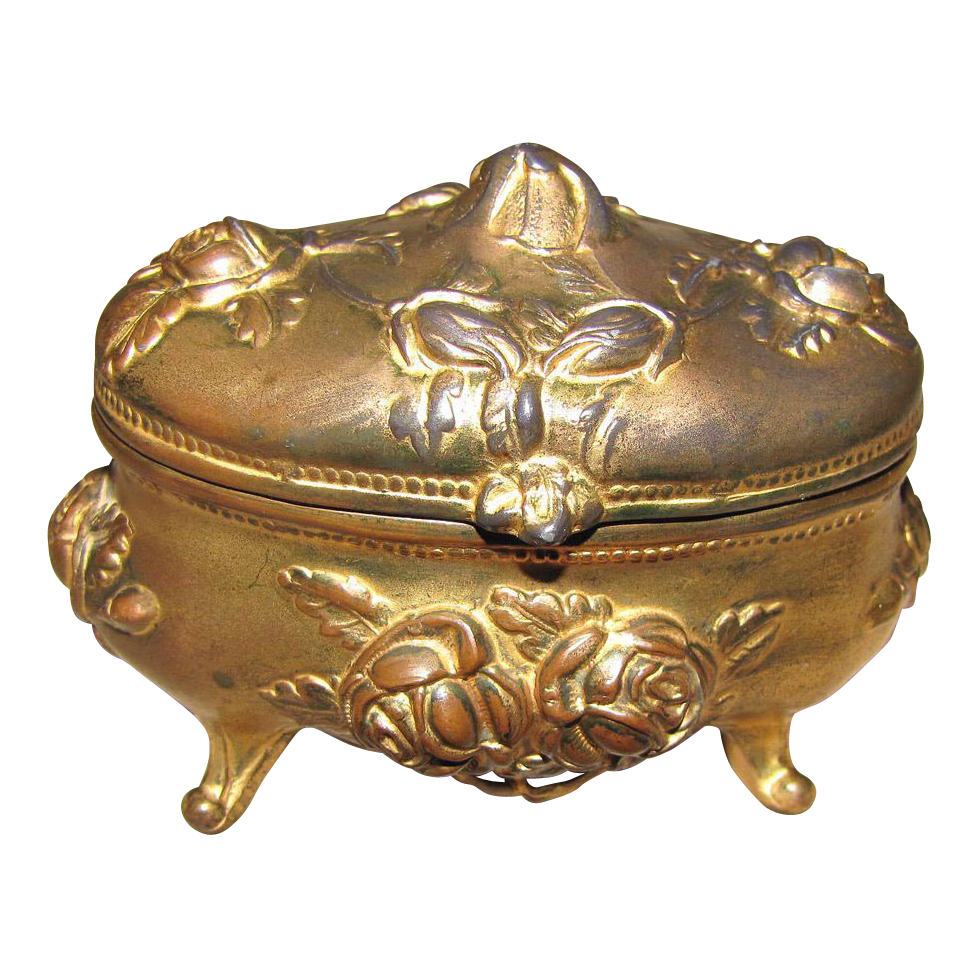 vintage jewelry boxes - Google Search