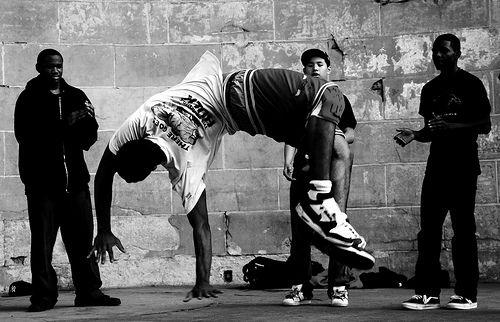 the acrobatic breakdance