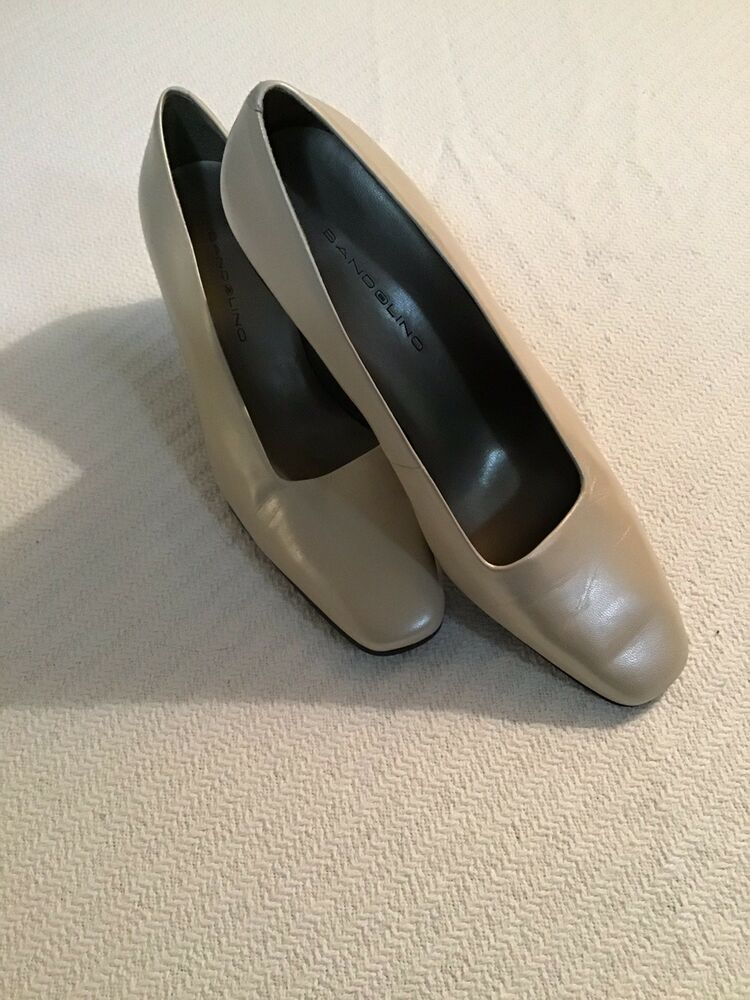 596e8a6ea Bandolino Womens Cream Colored Slip-on Pumps Size 9M 2.5 Square Heels  #fashion #clothing #shoes #accessories #womensshoes #heels (ebay link)