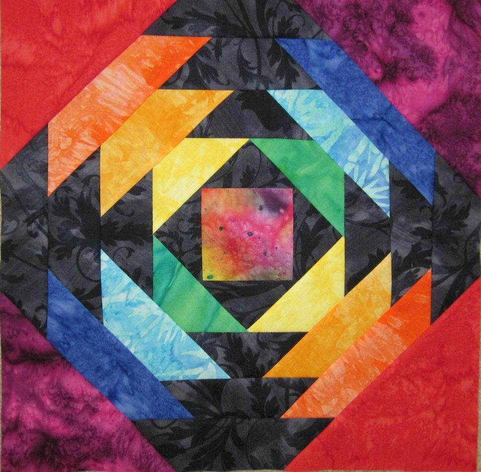 Free Quilt Pattern - Pineapple Block by Abby Josias Van Buskirk ... : pineapple block quilt pattern - Adamdwight.com