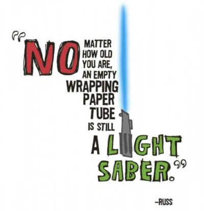 Light Sabers rule, it's the truth.