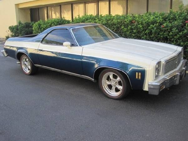 1976 Chevrolet El Camino Offered For Auction 1792436 Chevrolet El Camino El Camino Chevrolet