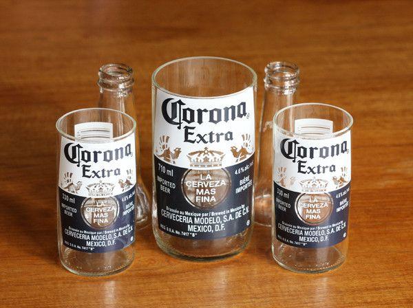 Kinkajou bottle cutter coupe les bouteilles en verre en - Couper une bouteille en verre ...