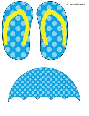 Props From Primary Pool Party Summer Printable Photo Booth Prop Set